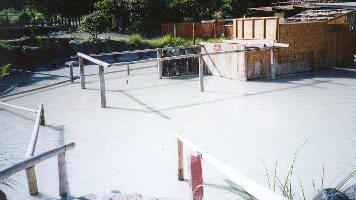 mud bath at beppu