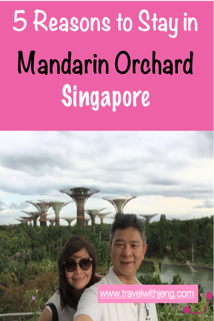 5 reasons to stay in Mandarin Orchard Singapore