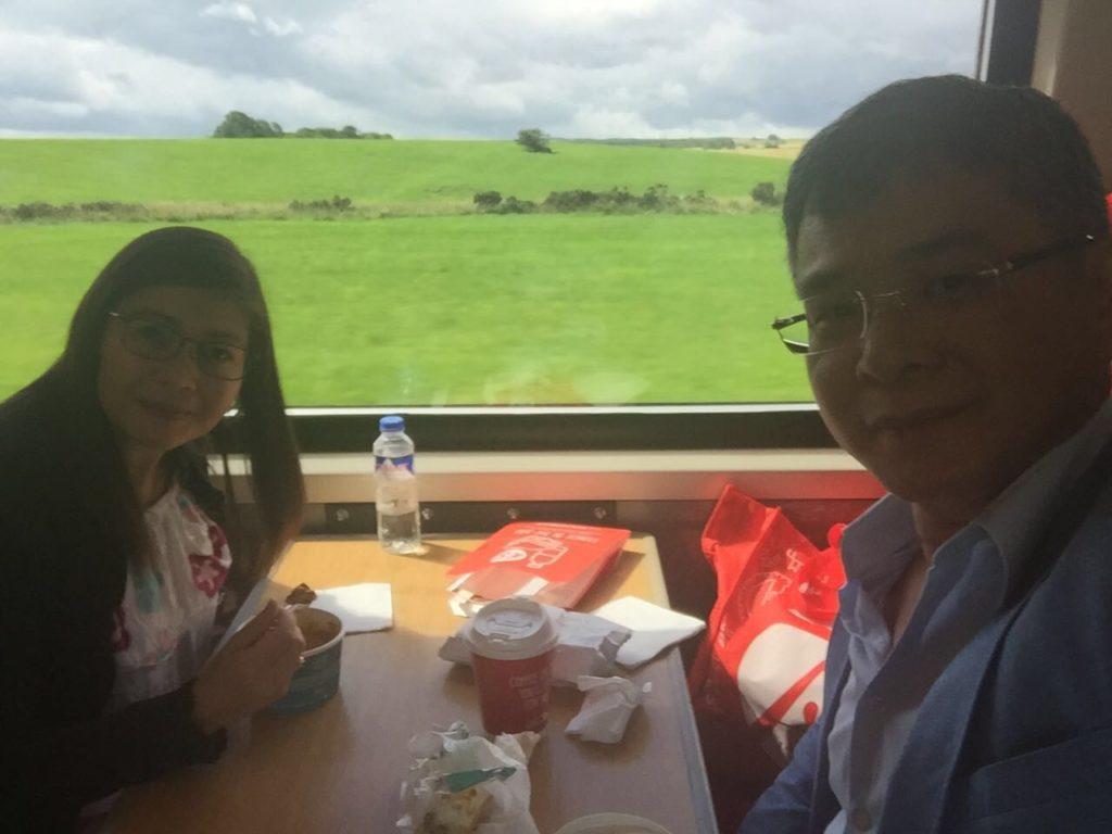 virgin trains to Edinburgh