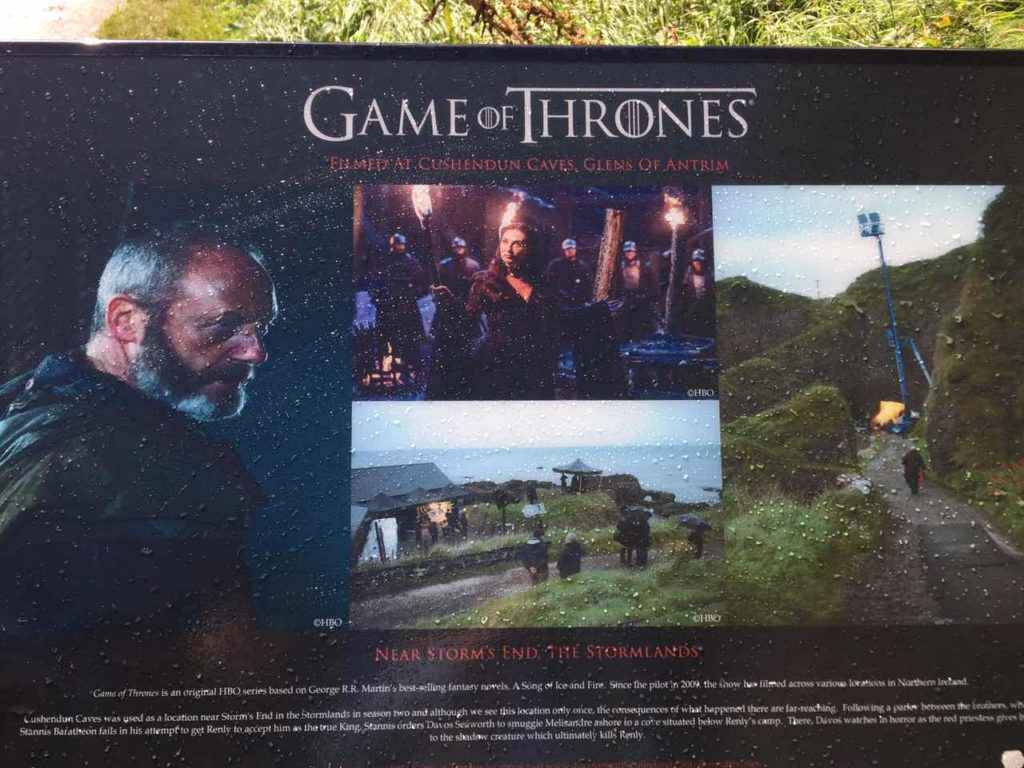 Game Of Thrones Filming Location In Northern Ireland, Cushendun Cave