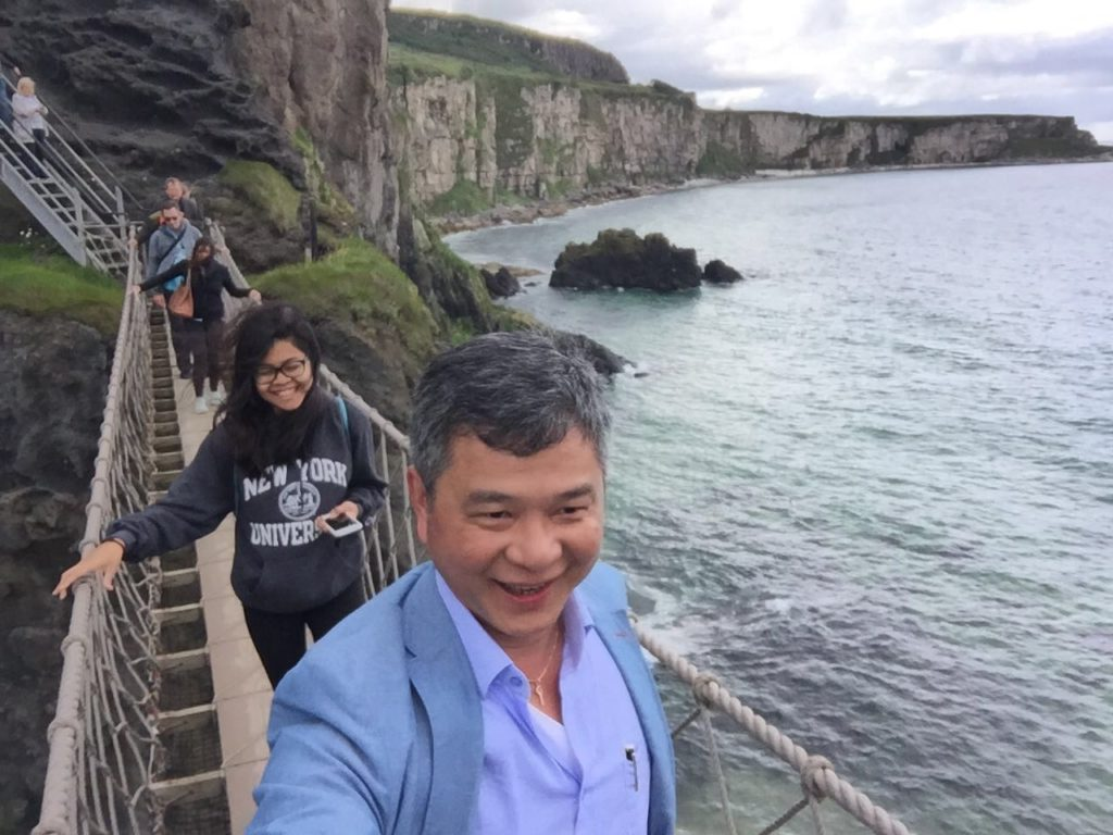 Game Of Thrones Filming Location In Northern Ireland, Carrick-A-Rede Rope Bridge