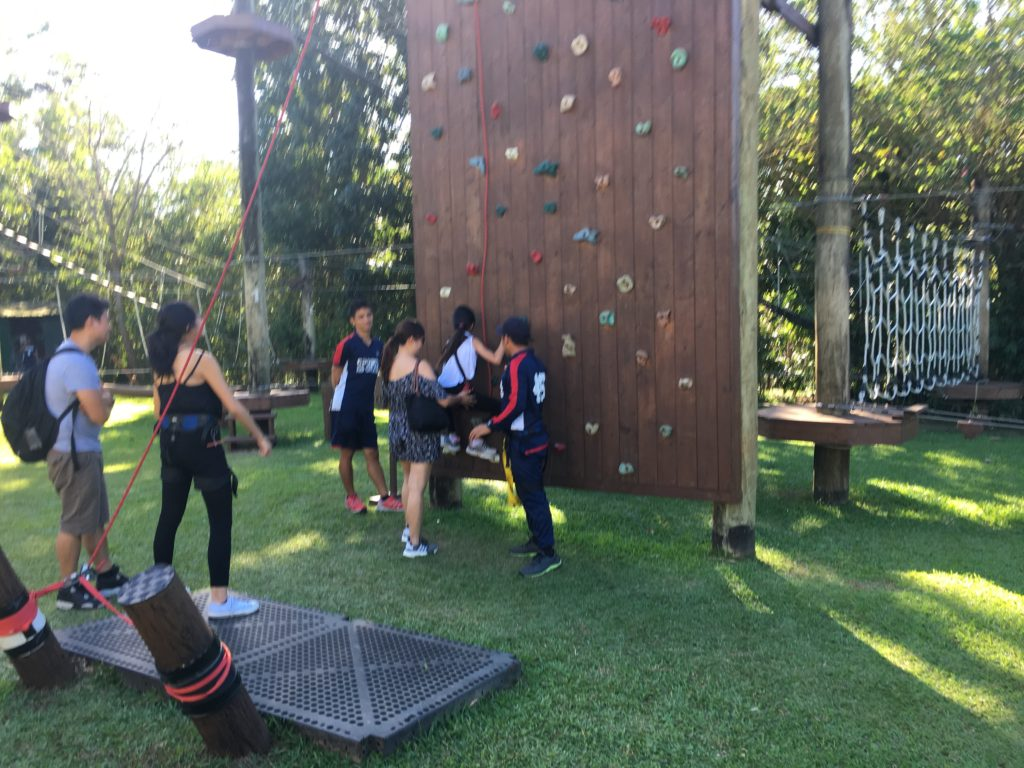 aerial walk and rock climbing tagaytay highlands