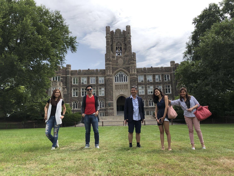 Fordham University Move-In Day