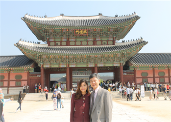 My trip to South Korea with my mom