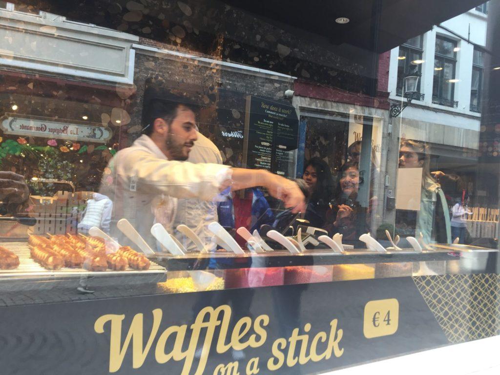 bruges best waffles