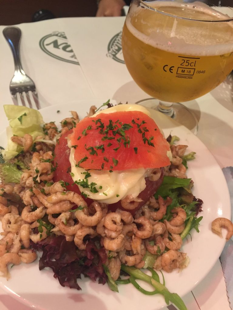Belgian food and beer
