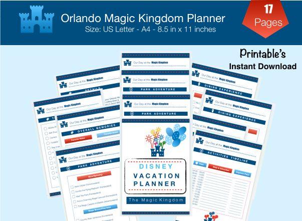 Magic Kingdom Disney Vacation Planner