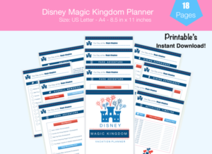 Disney Magic Kingdom Planner