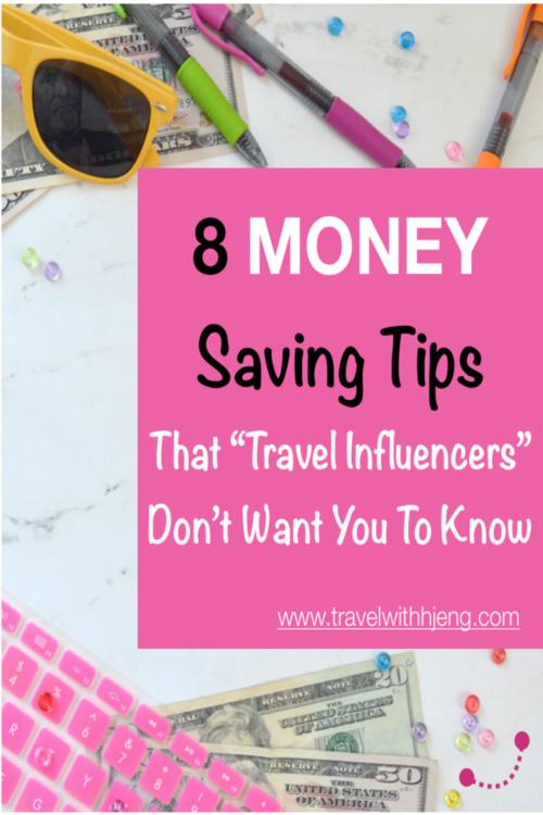 8 Money Saving Tips on Traveling