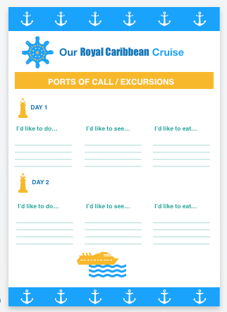cruise planner