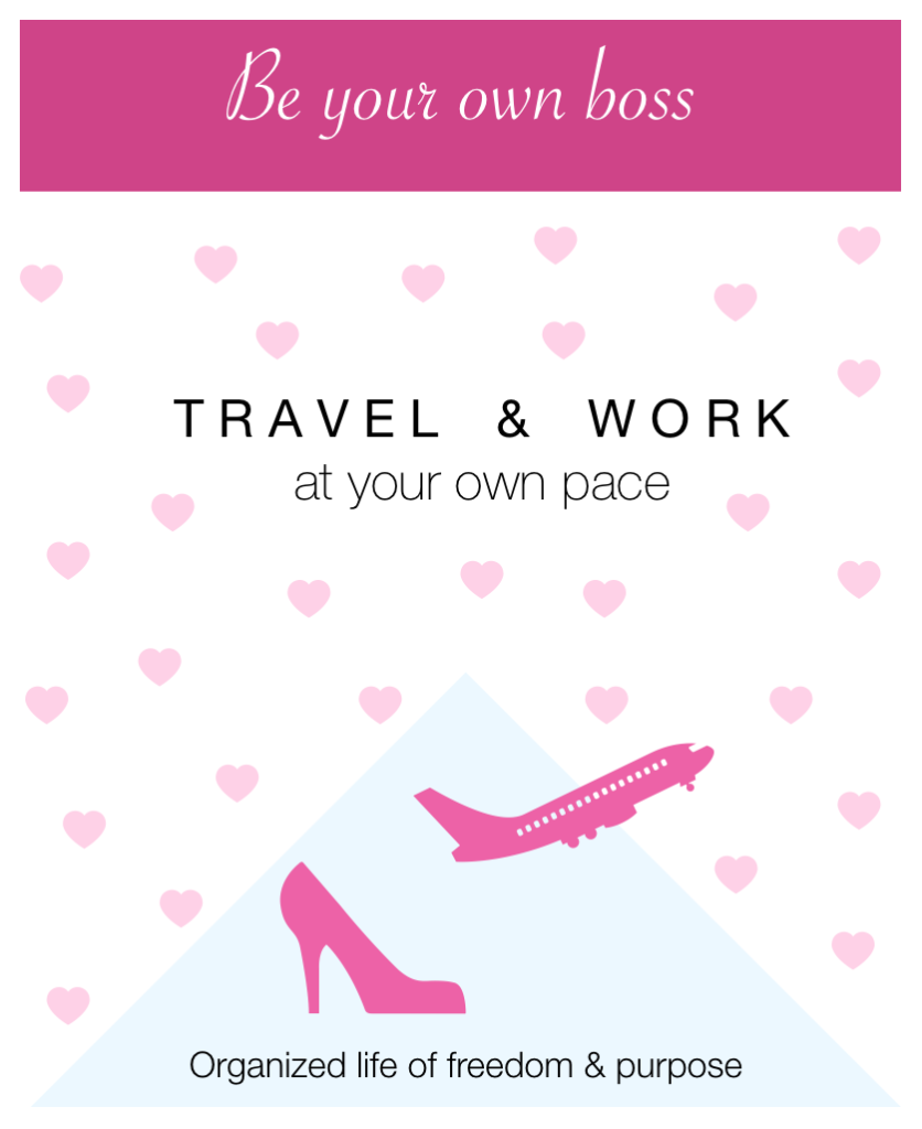 travel and work at your own pace