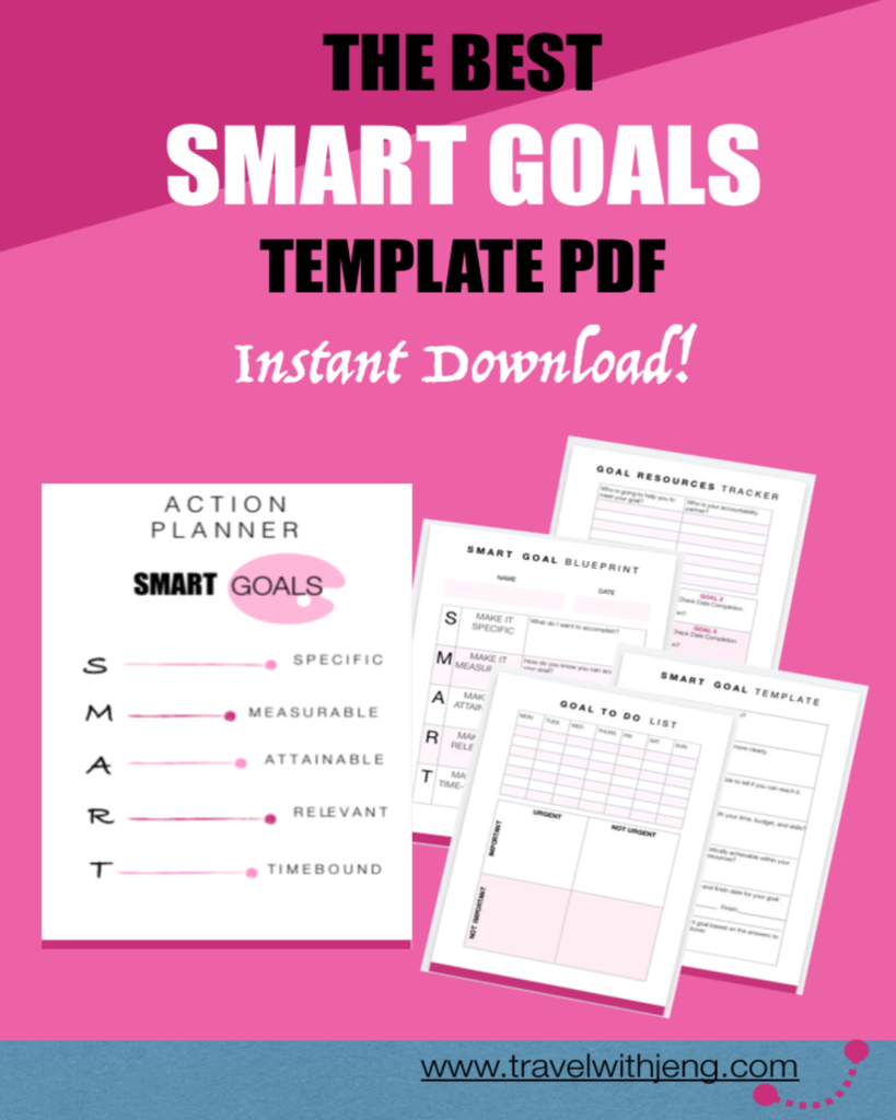 the best smart goals template in pdf