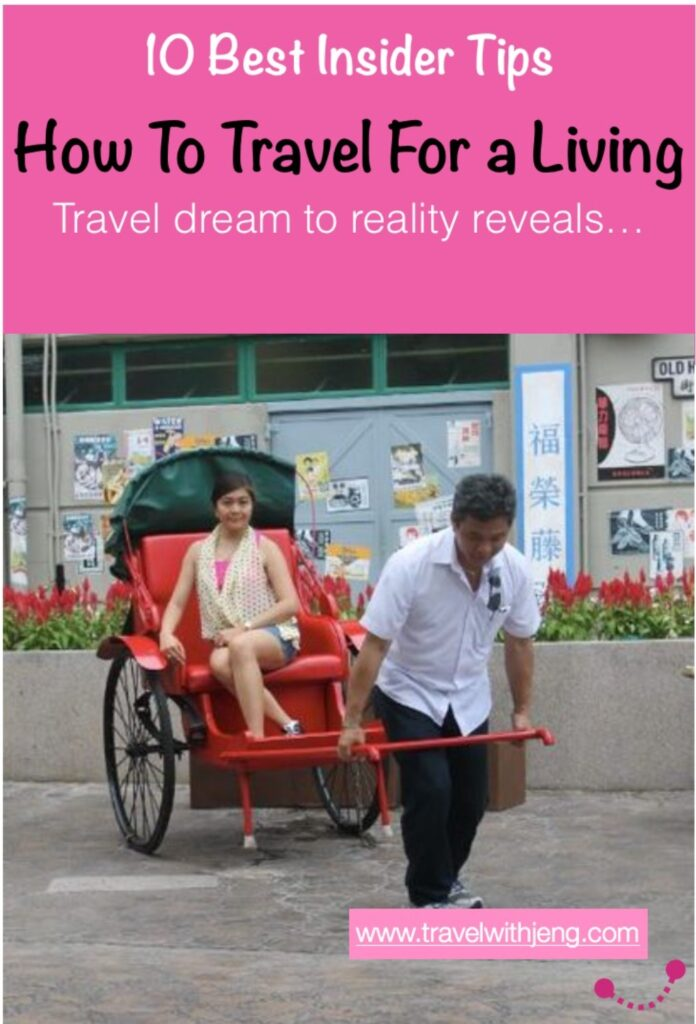 how to travel for a living