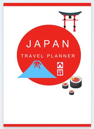 trip planner japan