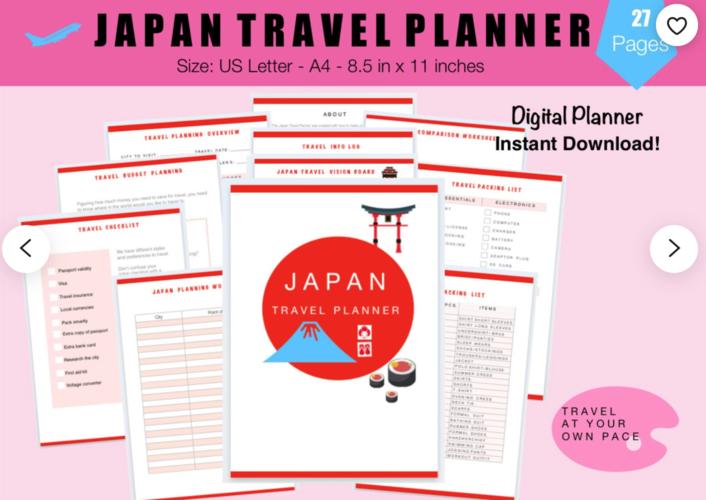 best japan travel planner